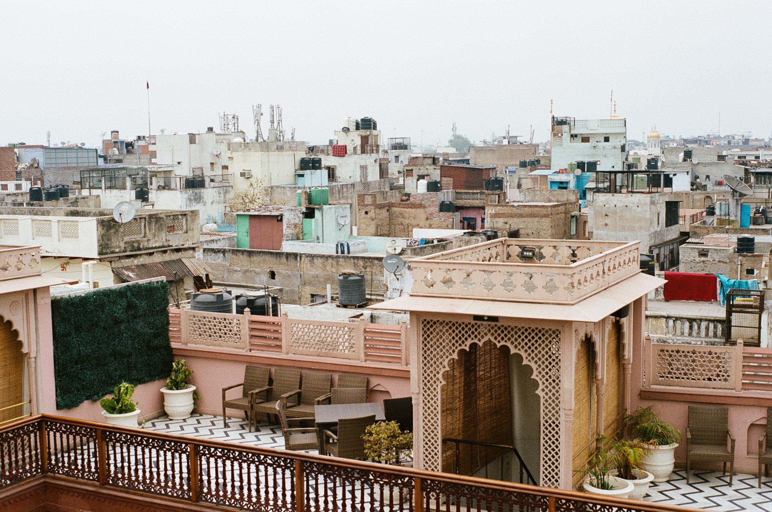 Old Delhi India Haveli Dharampura Portra 400 Minolta X-700 (3 of 65).jpg