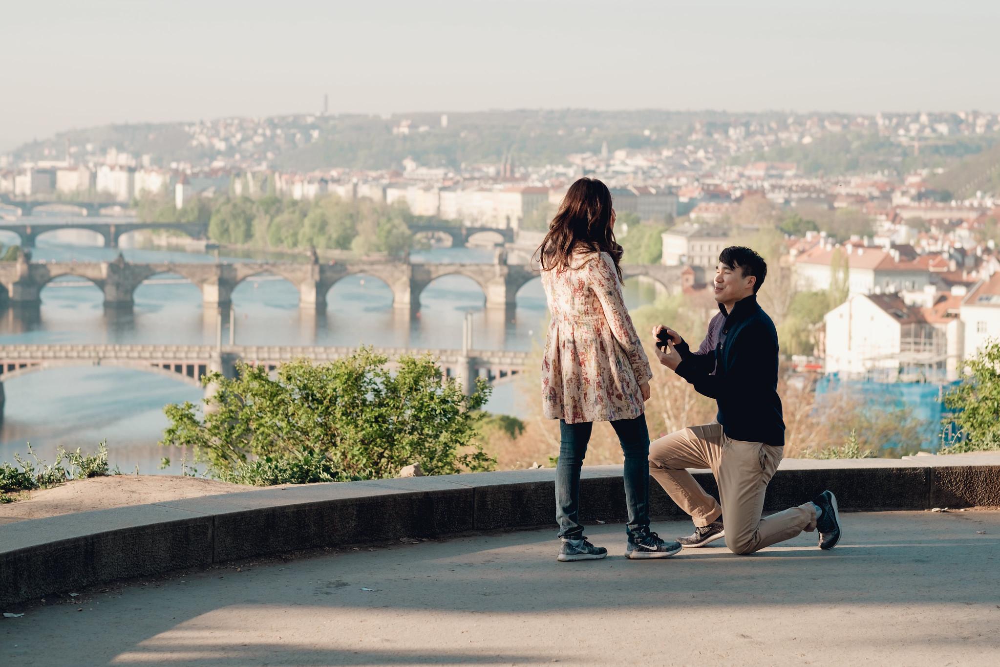 proposal - Hannah & Joe | Prague, Czech Republic