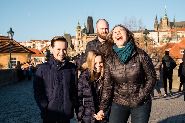 Family Vacation - The fish family | Prague, Czech Republic