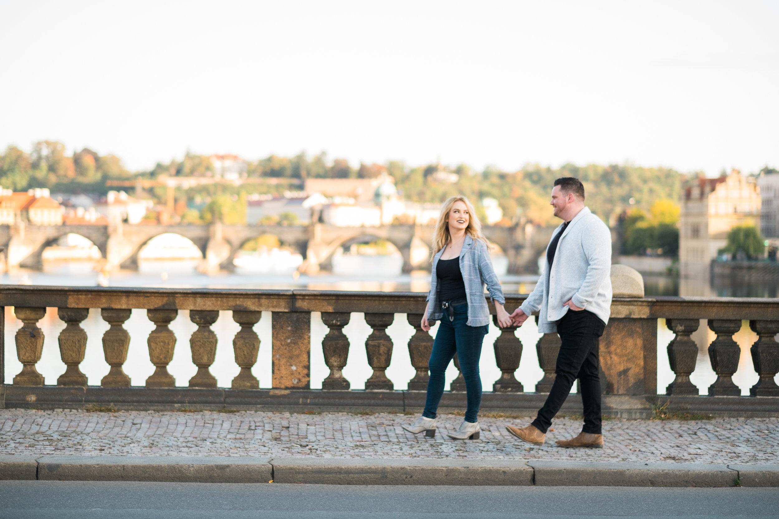 Honeymoon - Carly & Jay   prague, czech repulic
