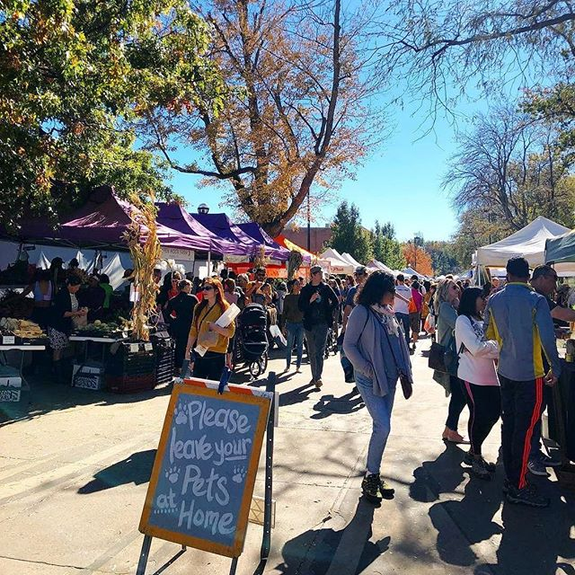 Opening day for the Boulder Farmer's Market! And it's a beauty!!! Love supporting local farmers & businesses and then picnicking alongside the creek. Spring has sprung! ☀️ 📸: @boulderfarmersmarket