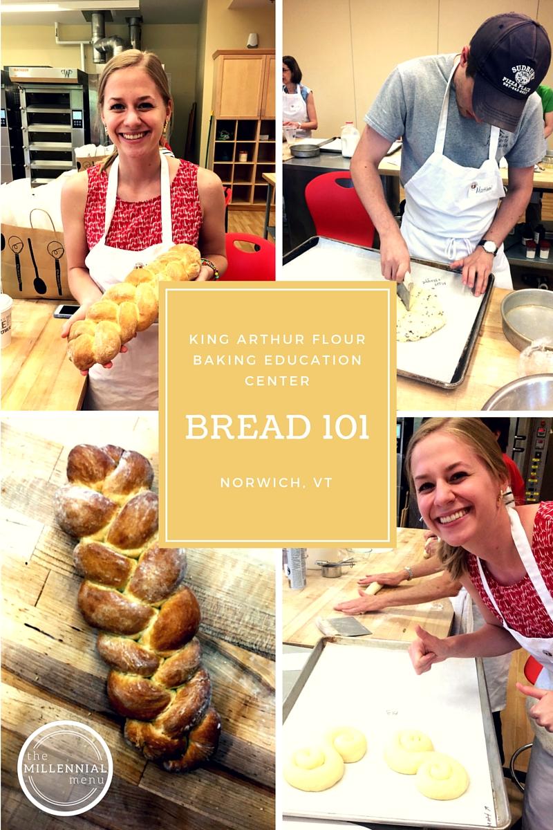 King Arthur Flour Baking Education Center offers all kinds of classes, including a basic Bread 101 class! | themillennialmenu.com