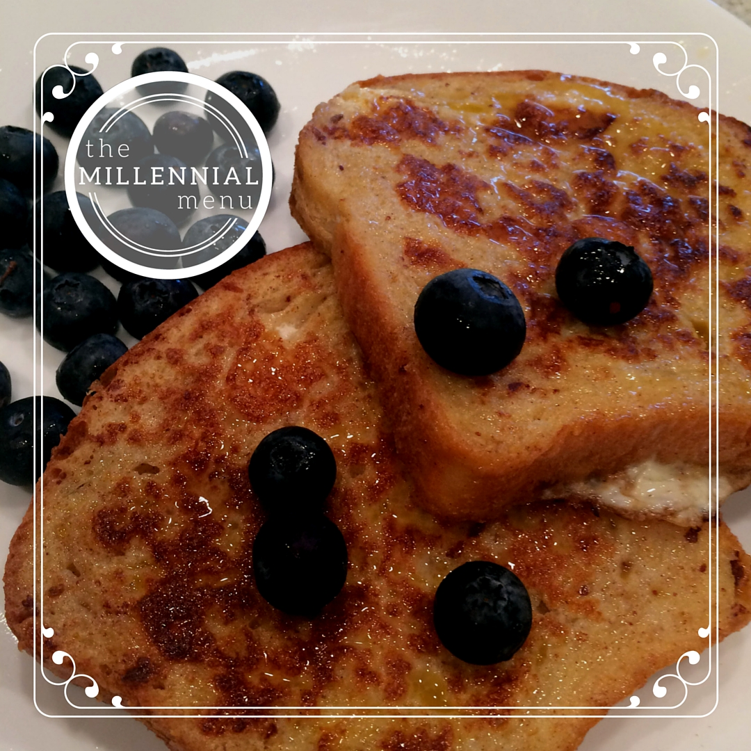 Use homemade bread to make delicious french toast in the mornings! |themillennialmenu.com