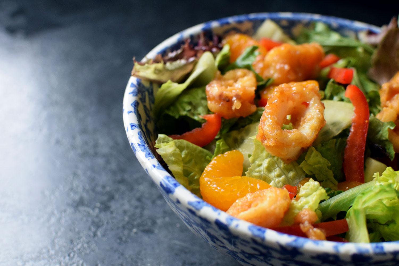 Sweet Chili Calamari Salad