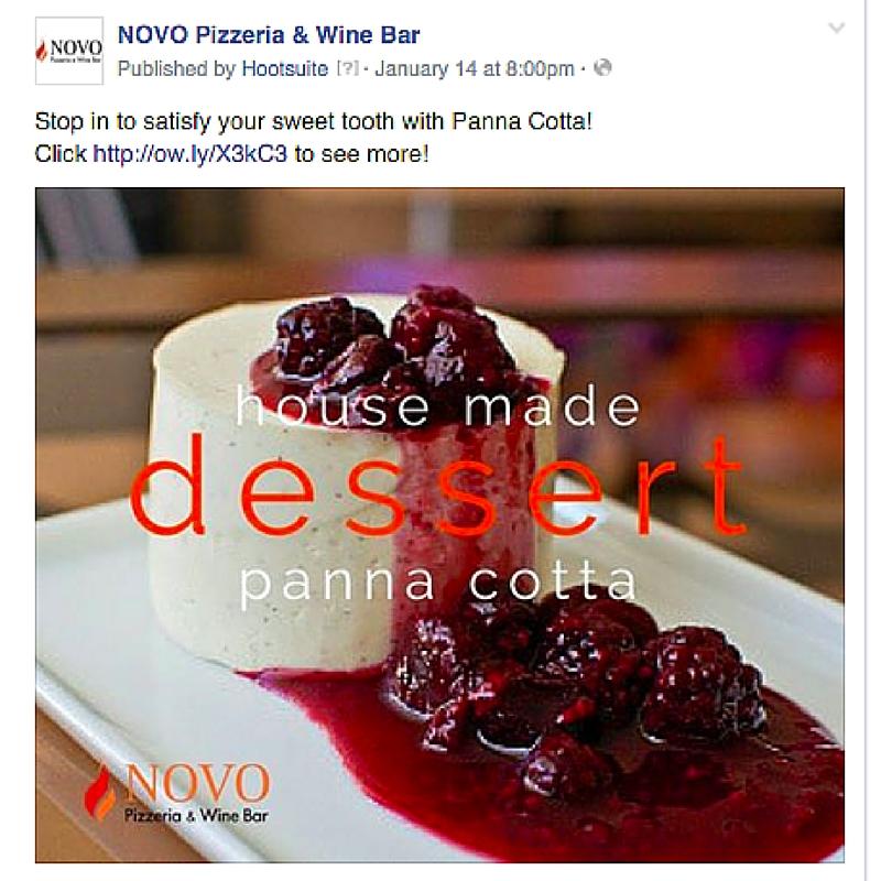 facebook novo post