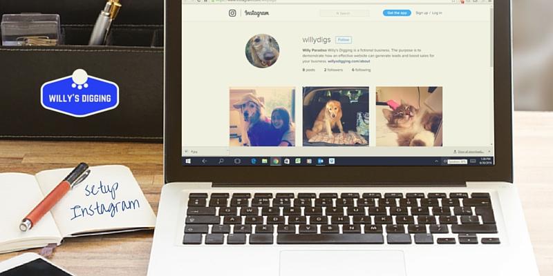 set up instagram