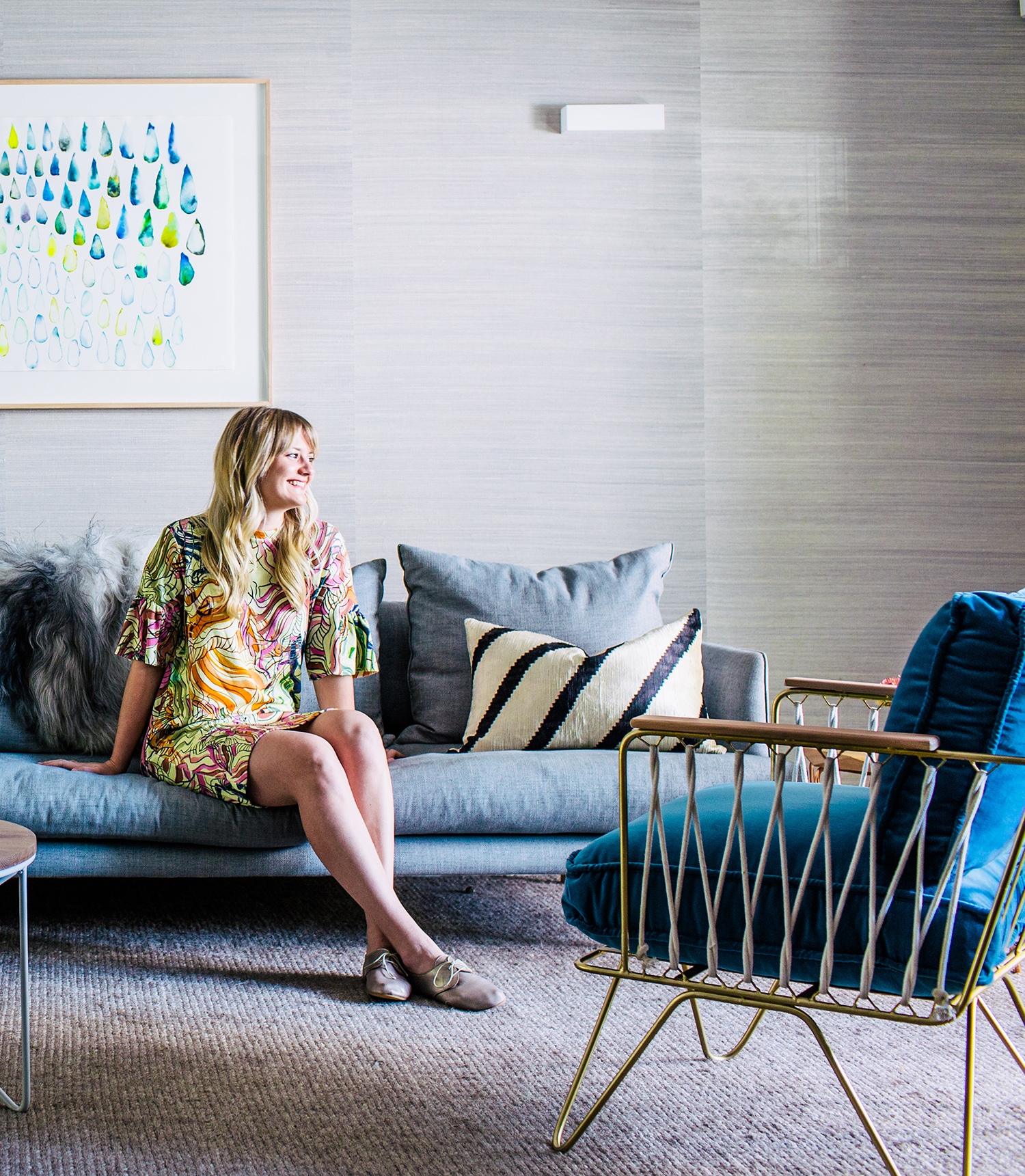 This image and image below: Photography:   Hannah Blackmore  /  Styling:   Claudia Stephenson  /  Interior:   The Designory
