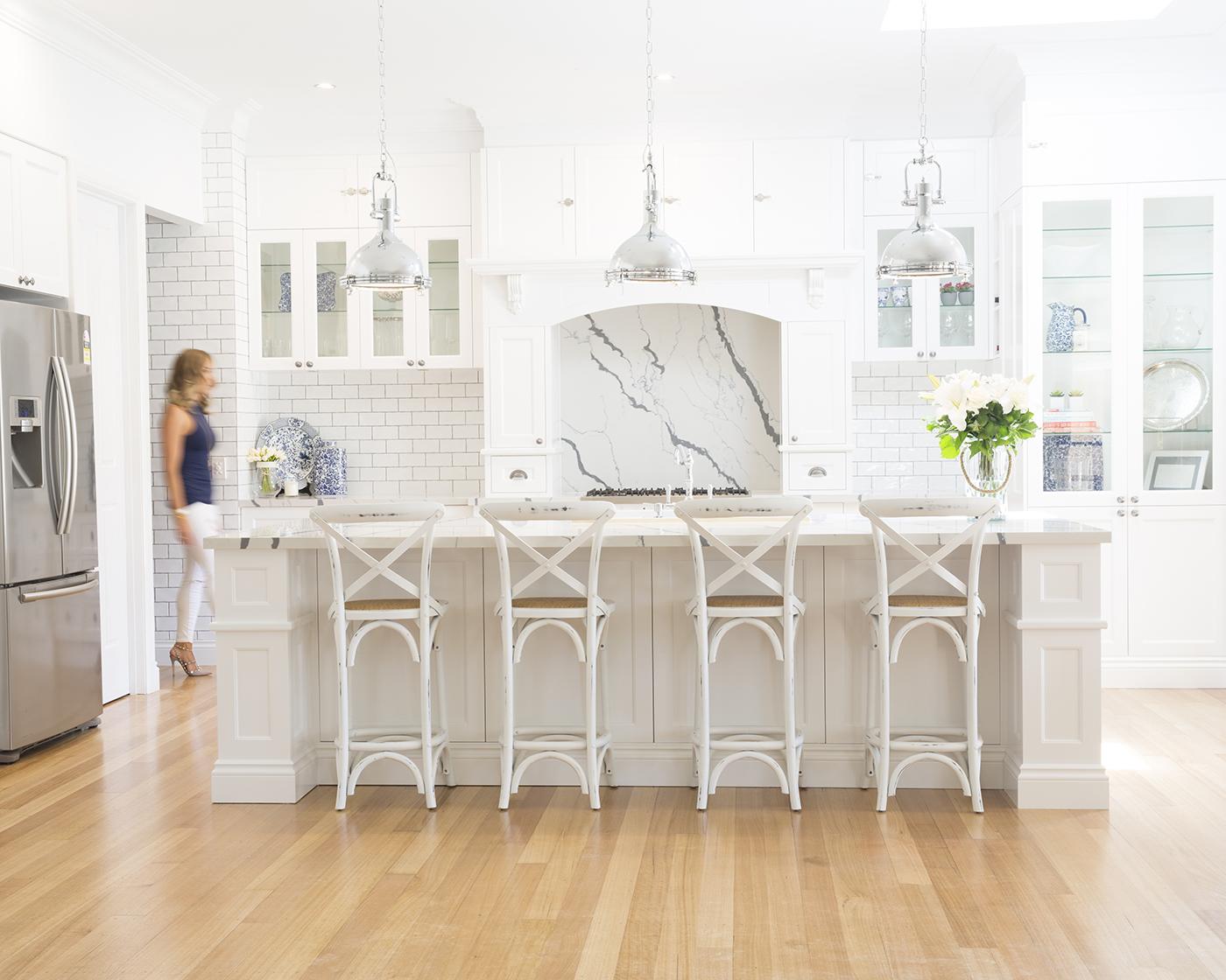 Interior design   Design by Danni  /  Photography   Rikki Lancaster   /  Cabinet makers   Juro Design