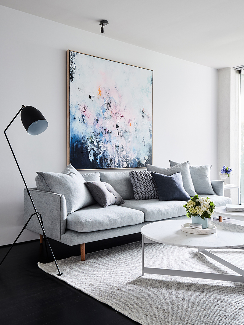 Michael Bond's artwork pictured  Photography   James Geer  for  Rebecca Judd Loves blog  /  Styling   Aimee Tarulli