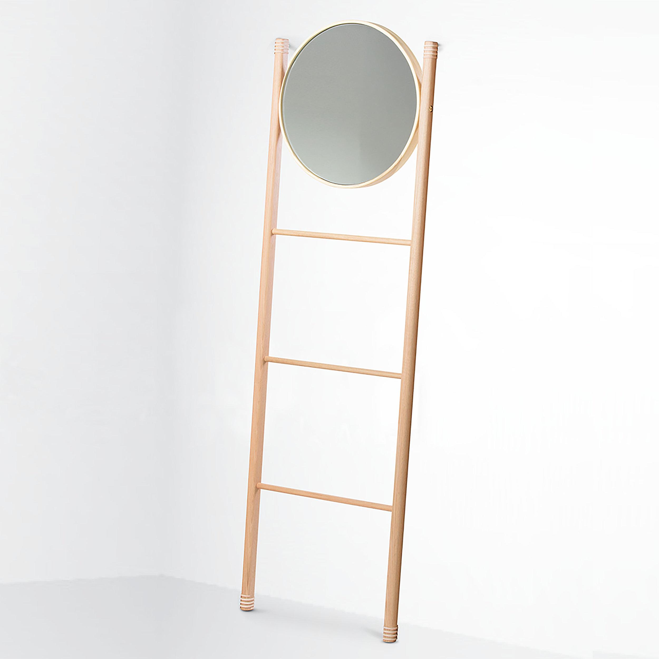 Beeline Design 'Cuba' mirror ladder rack