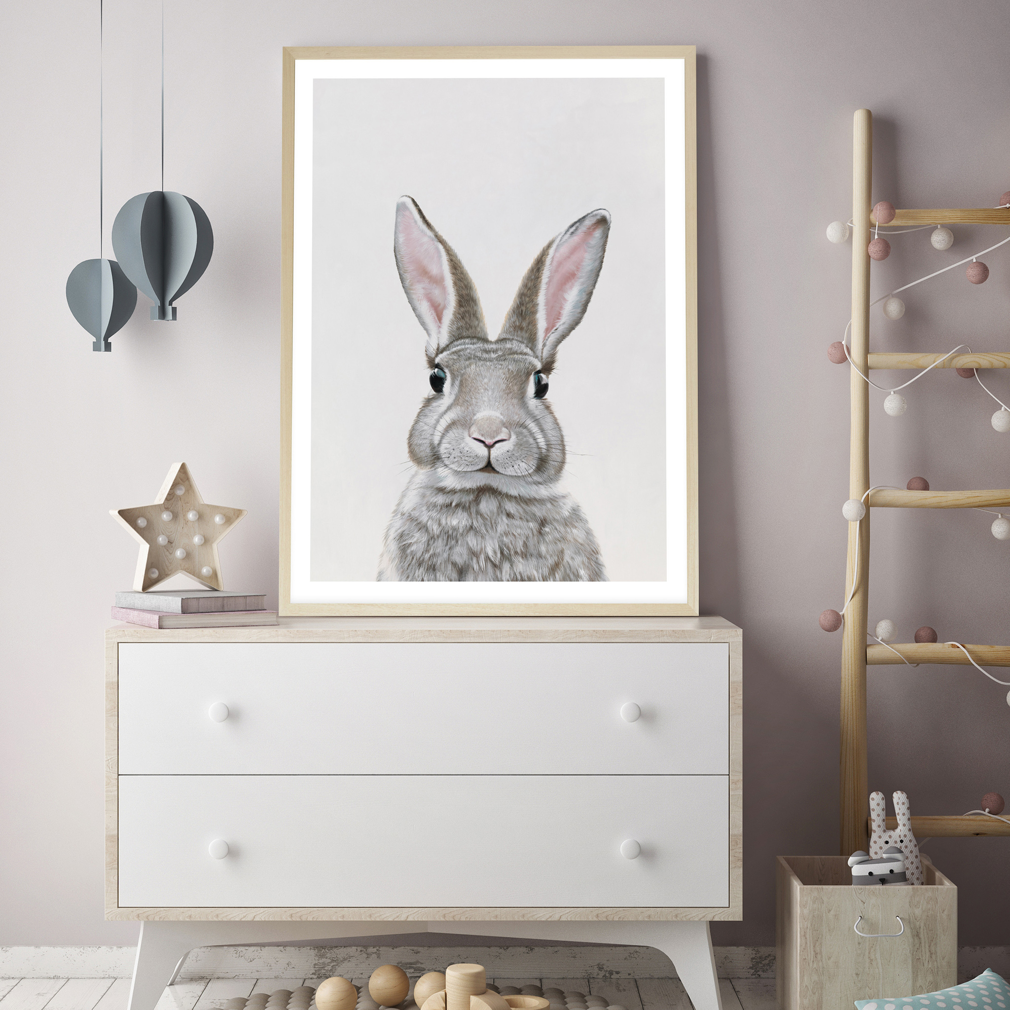 Baby Rabbit III Art Print By The Print Emporium .jpg