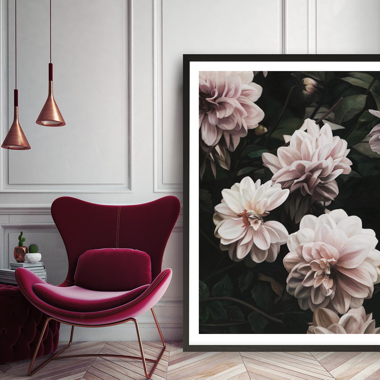 Oriental Garden Art Print By The Print Emporium By The Print Emporium.jpg