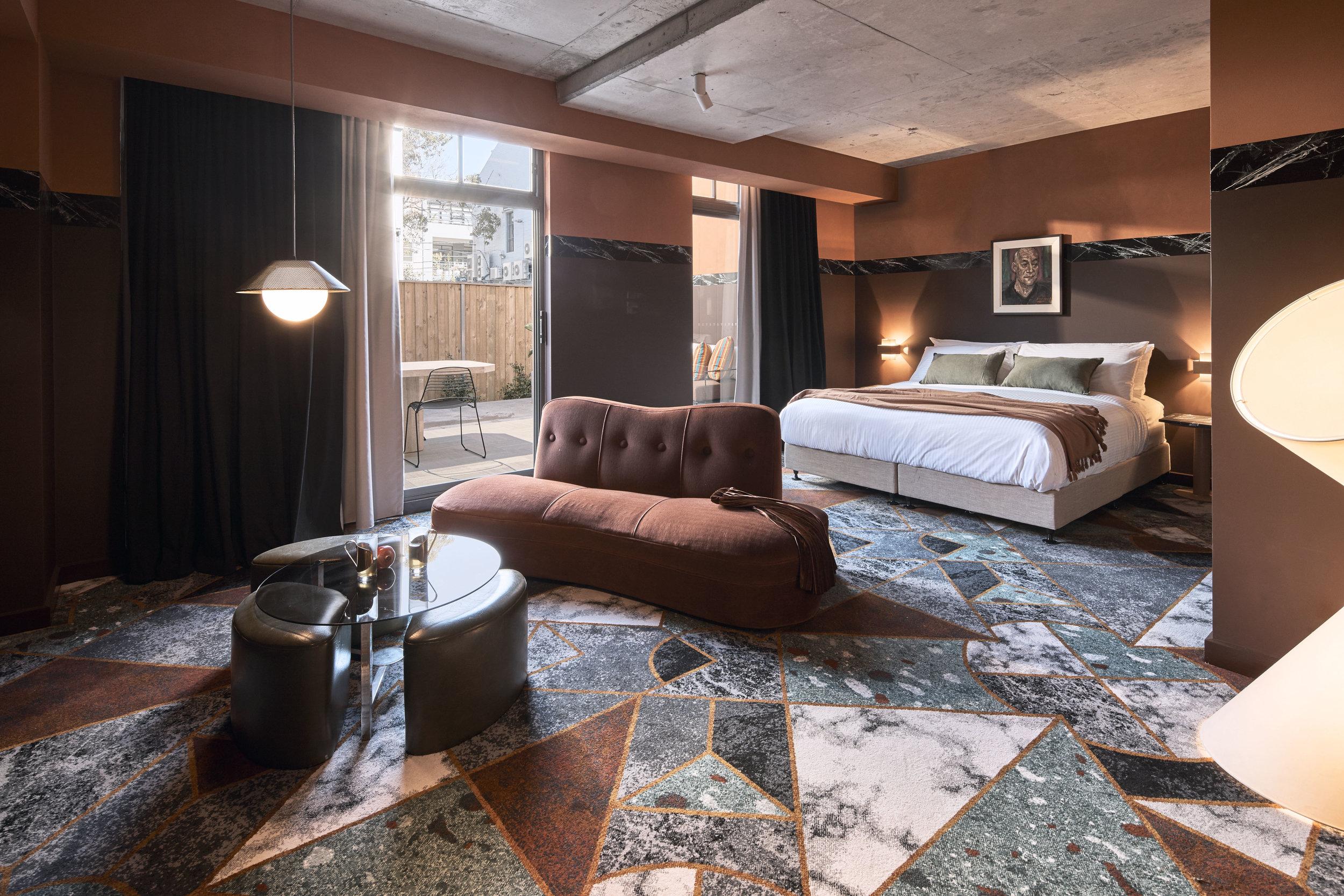 Rita Velour room by Amber Road