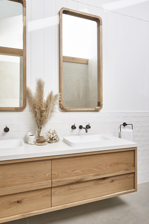 Bathroom Trend Timber Vanities