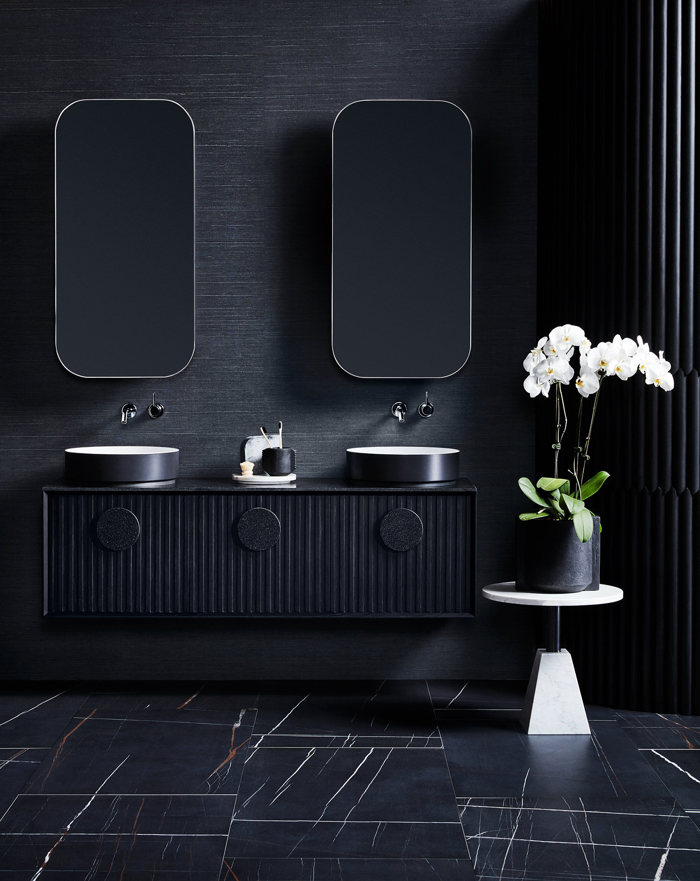 online store a1a9b fece0 Bathroom Trend: Timber Vanities — Adore Home Magazine