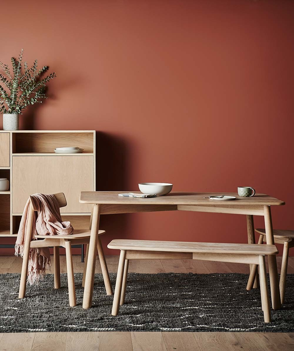 GlobeWest's Sketch Root dining table from Hunting For George