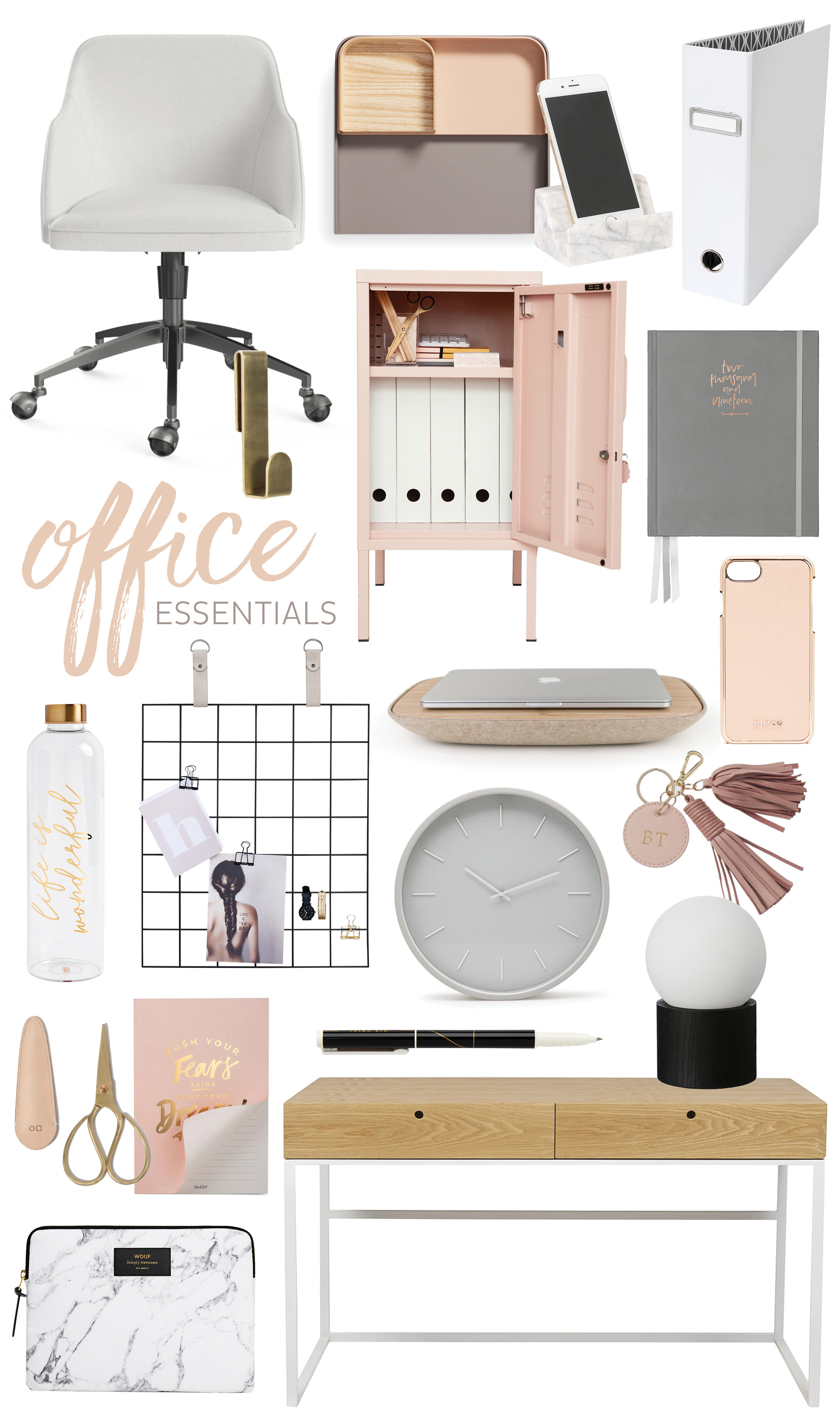adore_home_blog_office_essentials_blush_pink_grey_chic_gold_brass_marble_neutral_workspace_products_moodboard.jpg