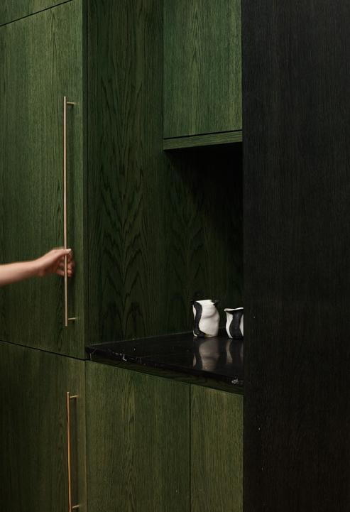 Made Measure's brass slimline handle 02  Interior design: Amber Road Design   Photography: Christopher Morris