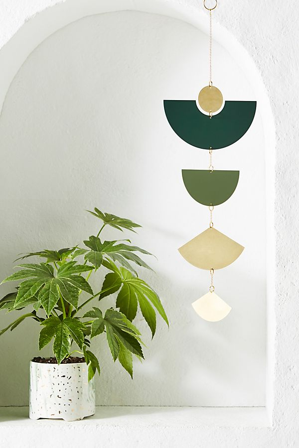 Circle and line wall hanging from Anthropologie