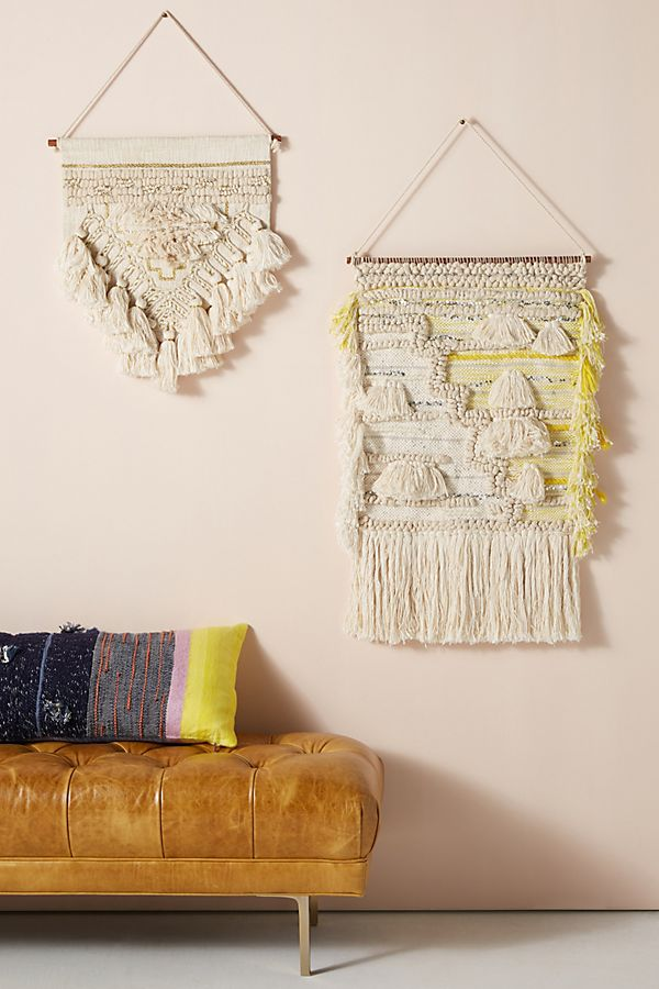 Helene wall hangings from Anthropologie