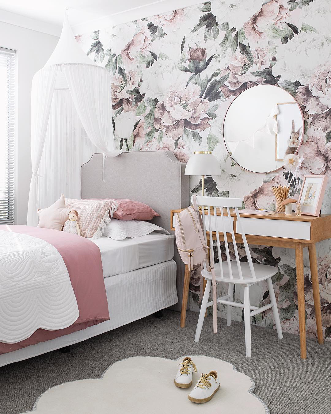 Queen Anne Wallpaper  /   Photography + Interior design  Tarina Wood, Oh Eight Oh Nine