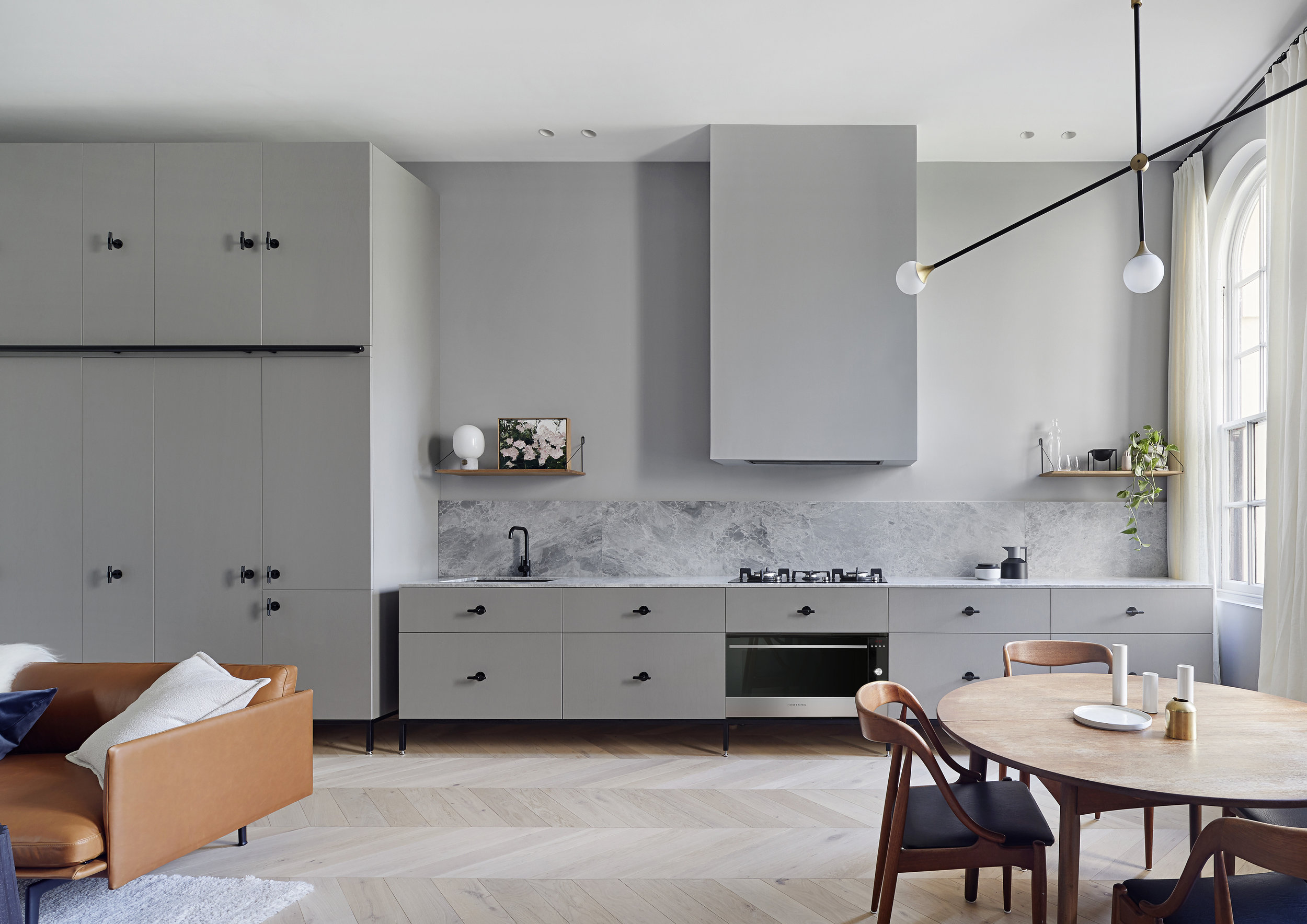Photography  Shannon McGrath /  Interior design  Sarah Wolfendale /  Styling  Nina Provan / Image courtesy of Fisher & Paykel