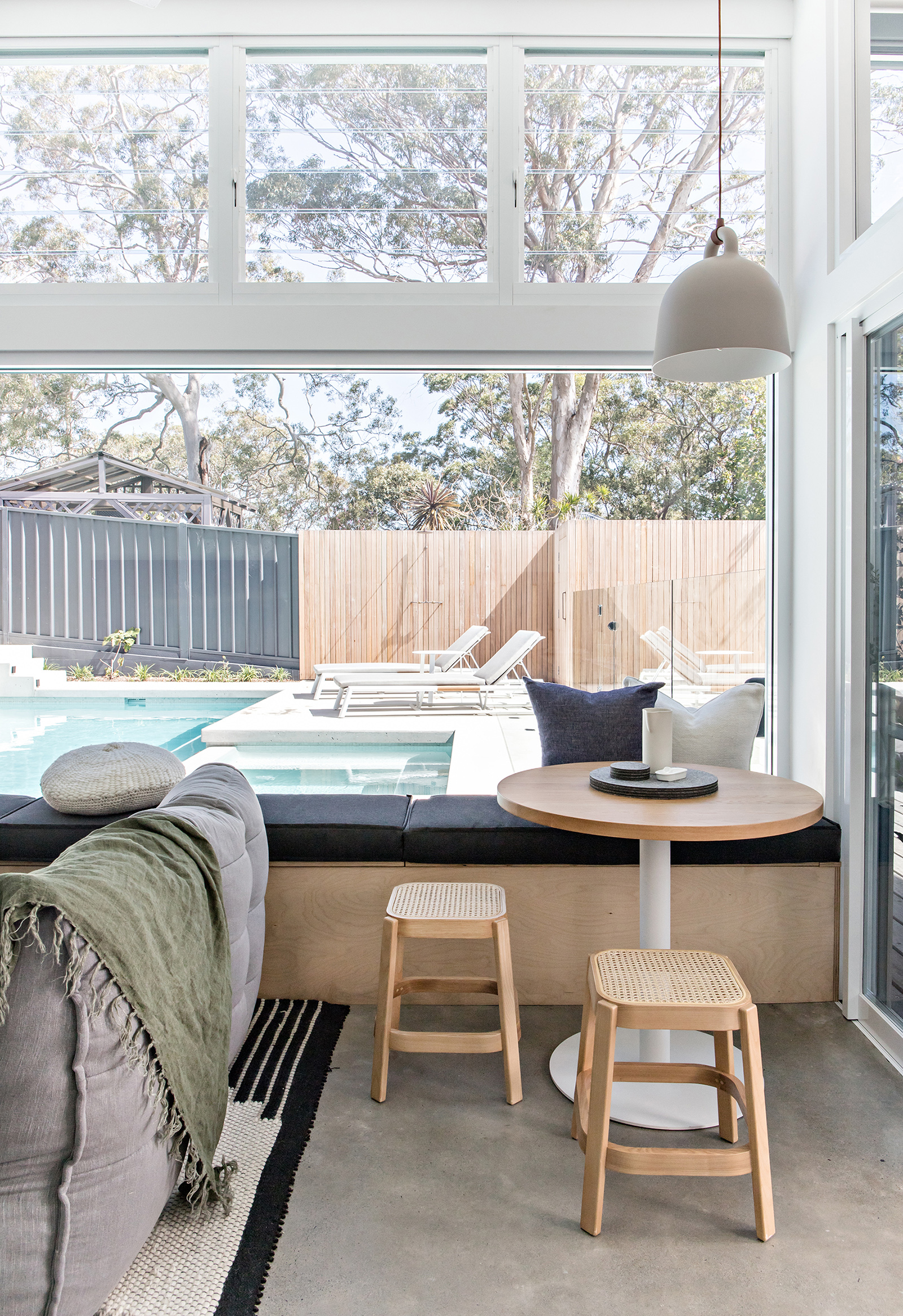 Photography  The Palm Co. /  Architecture  Ironbark Architecture /  Interior decoration  Marnie Prowse