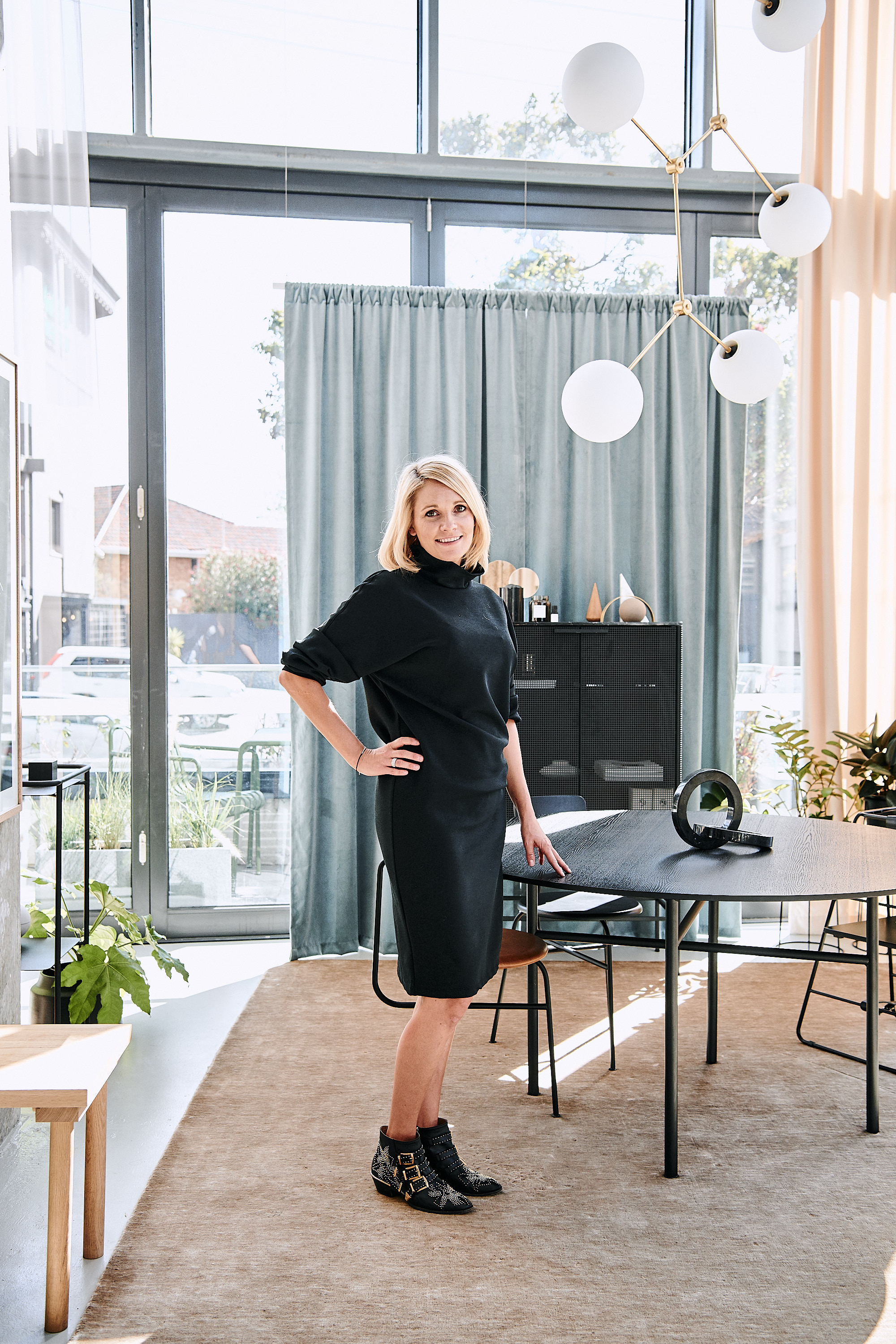 Store owner Christina Fedders