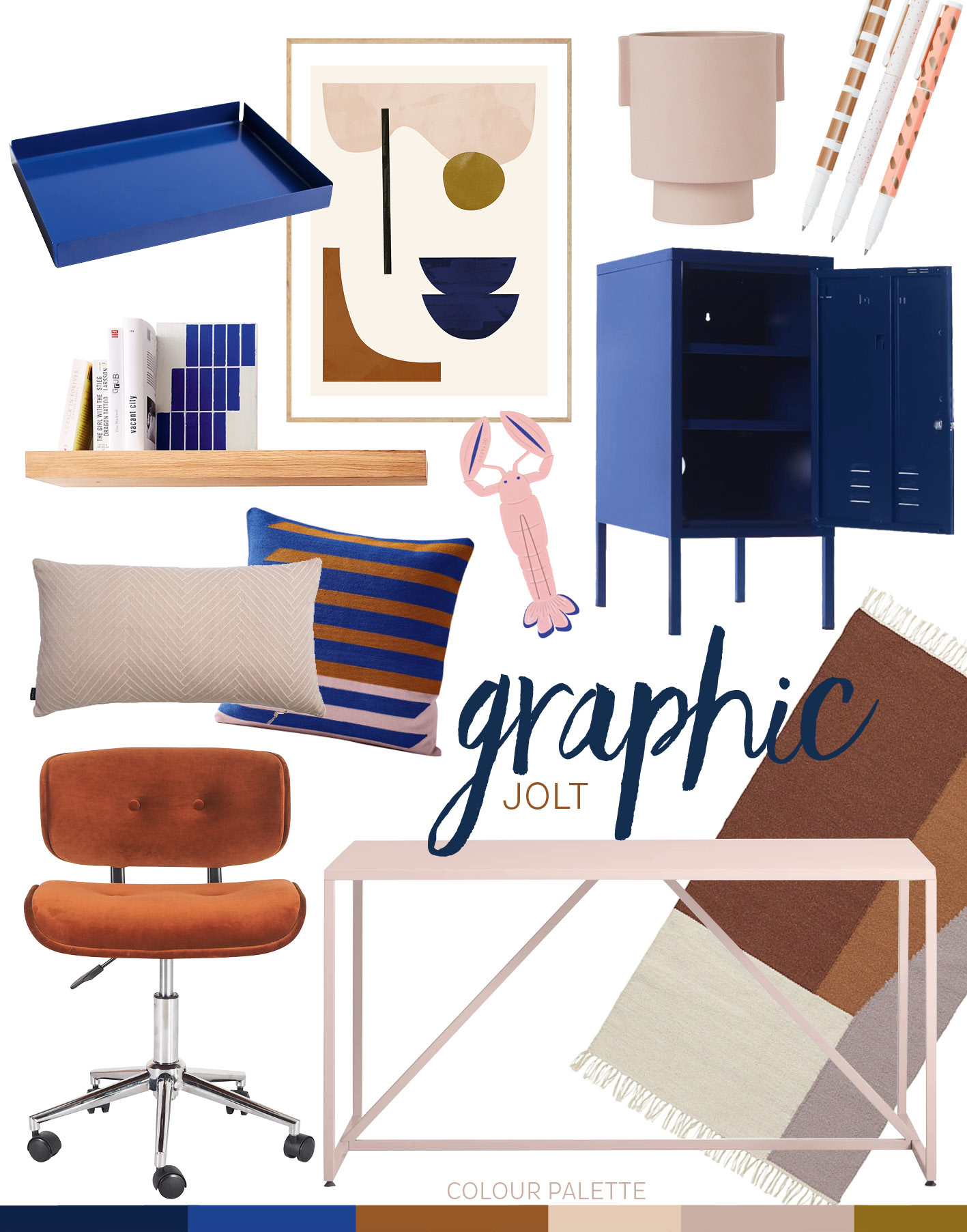 adore_home_magazine_blog_cobalt_graphic_jolt_workspace_moodboard_modern_contemporary_blush_rust.jpg