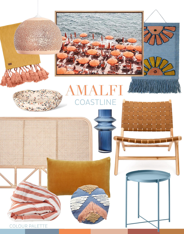 adore_home_magazine_blog_amalfi_coastline_bright_summer_colour_palette_fresh_blue_coral_mustard_orange_butterscotch_bedroom_flatlay copy.jpg