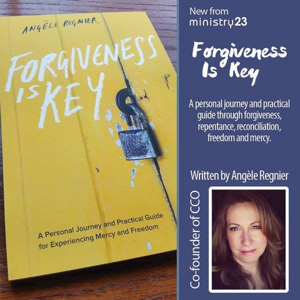Angèle Regnier, co-founder of Catholic Christian Outreach (CCO), will bring God's uncompromising demand for forgiveness into clear and convicting focus. How can we be forgiven if we do not forgive? Unforgiveness has eternal consequences.  Weaving her own experiences with Church teaching, Scripture, scenes from films, real-life examples, and the witness of the saints, Angèle Regnier will share practical, relatable, and humorous lessons about forgiveness, reconciliation, and mercy. Angèle will help you:  • Understand the freedom found in forgiveness • Learn how to forgive, even when it seems impossible • Gain practical advice on how to repent and seek reconciliation, even when it is not welcomed.  It will be impossible to hear Angèle's talk, Forgiveness is Key, and remain unaffected. Through it, God will draw you into his mercy and greater freedom.  Admission is free, however a free will offering will be collected.  Spread the word! Invite your friends in person, by email, and through the  invite link.  See you there!