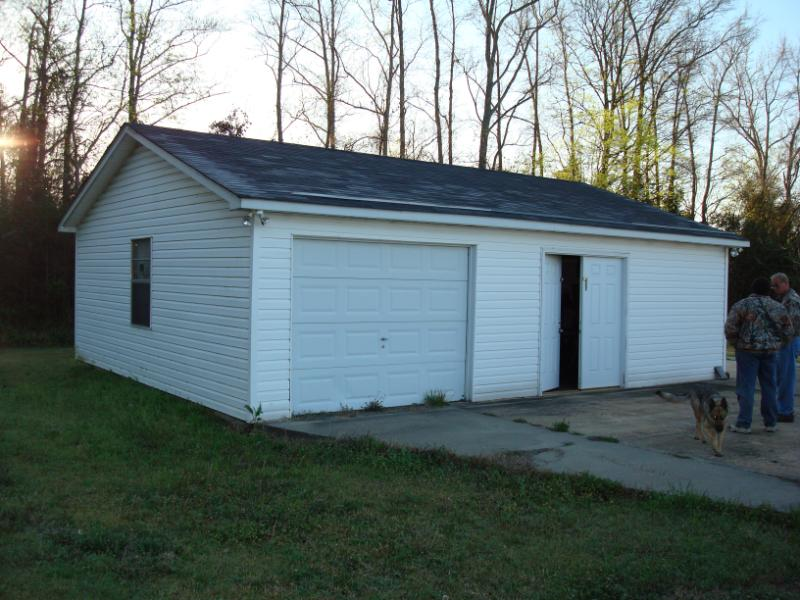 This garage was moved from Sumter to Timmonsville.