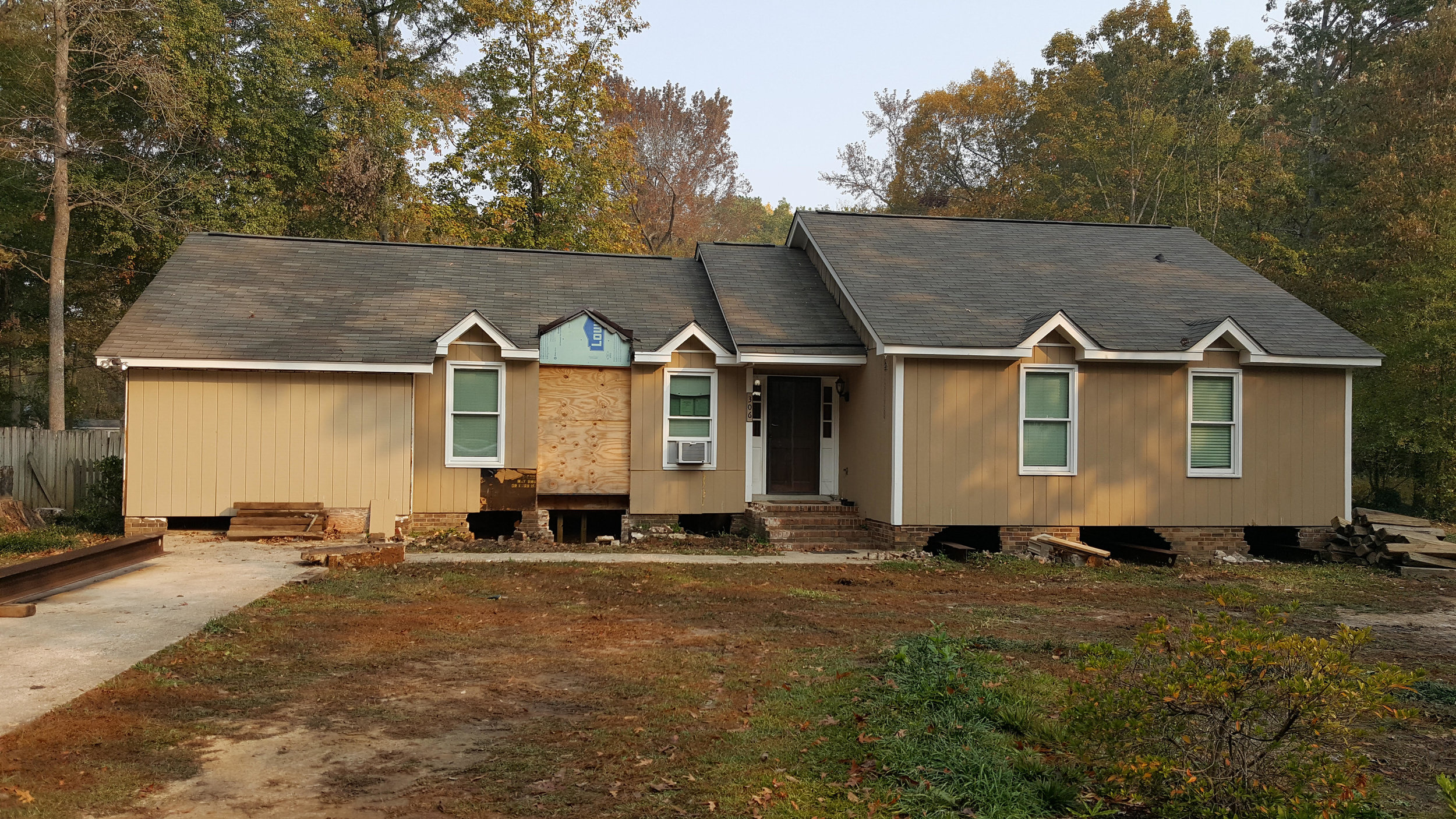 After the South Carolina flood, many homes like this one must be raised to meet new regulations.
