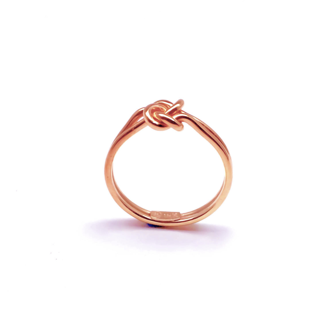 Knot Rings Rose Gold