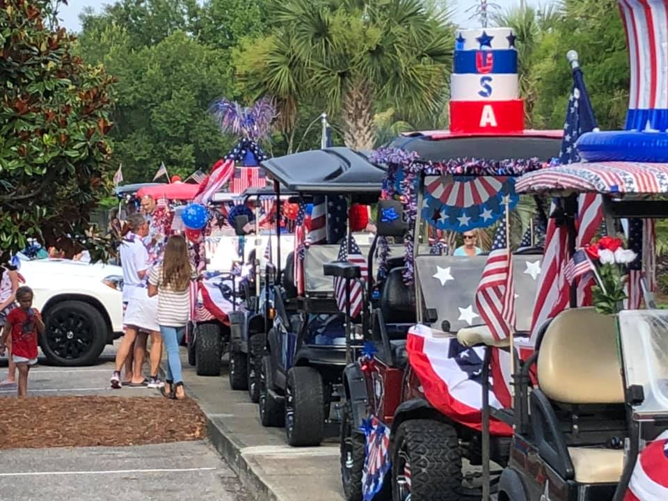 July 4th, 2019 - As the carts began rolling in, we knew something special had just been started by all of us. America!