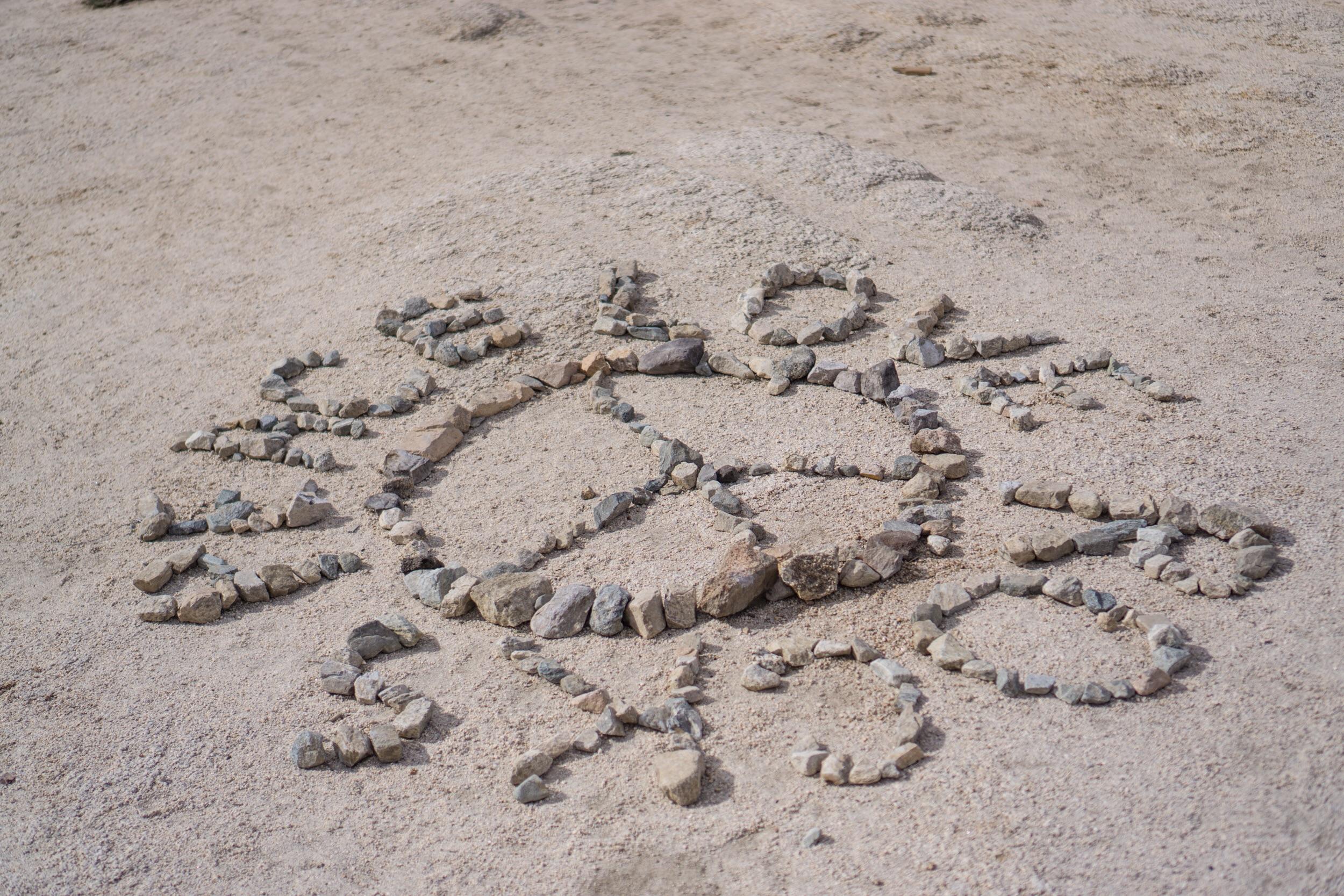 Peace, Love, Rocks