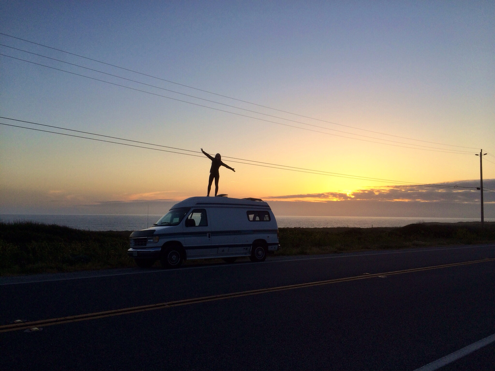 First trip up Hwy 1 in our new (to us!) van