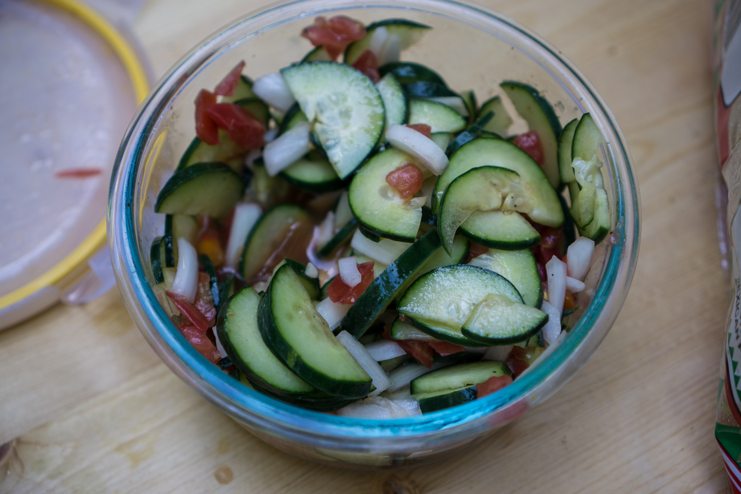 Cucumber salads...a van favorite