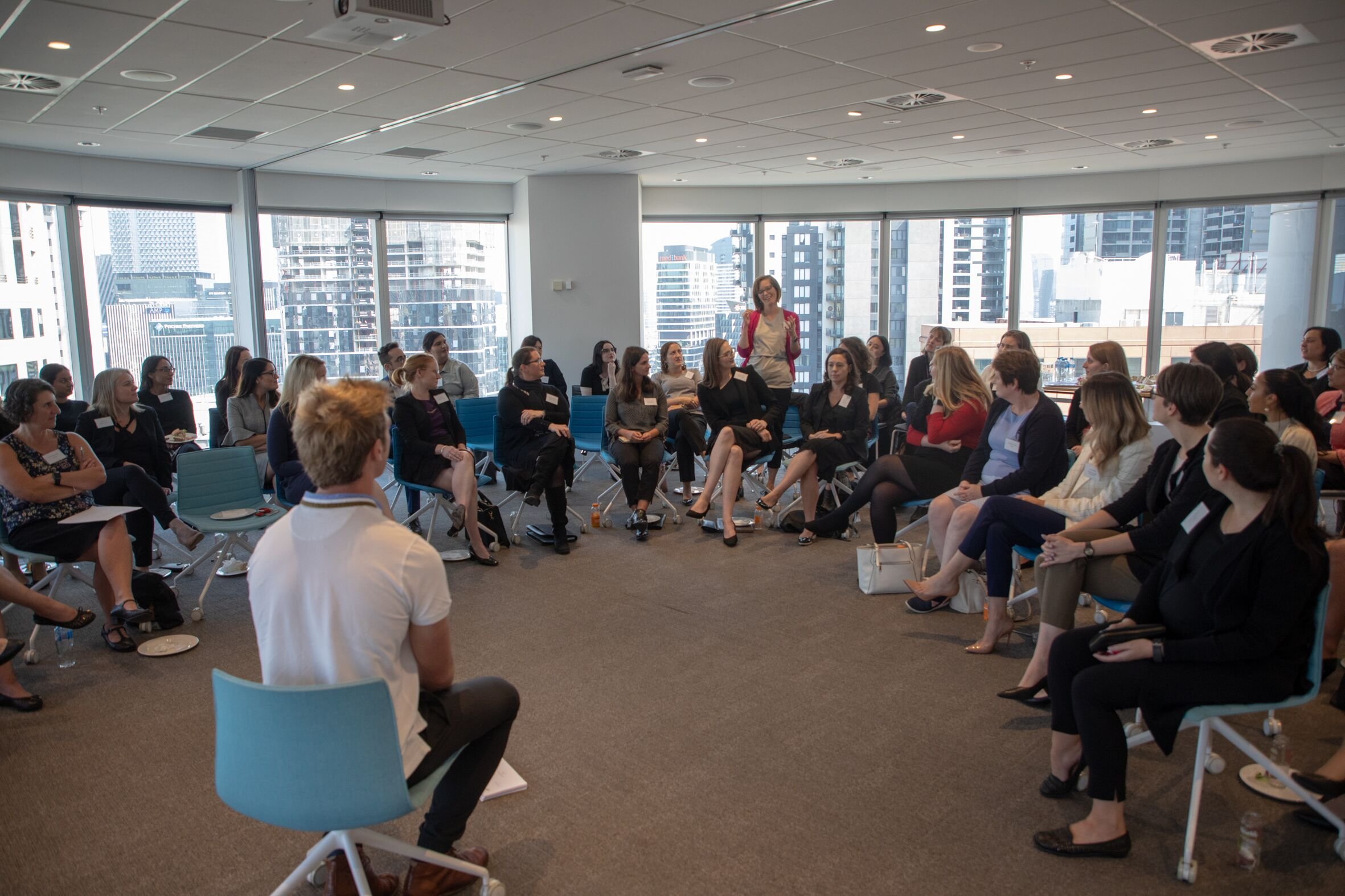 Ikigai-Inspiration workshop with Victorian Women Lawyers. Hosted by Wotton + Kearney in Melb. AUS.