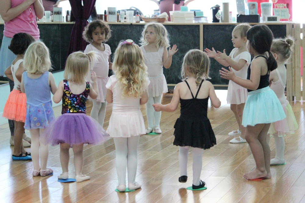 happy baby ballet