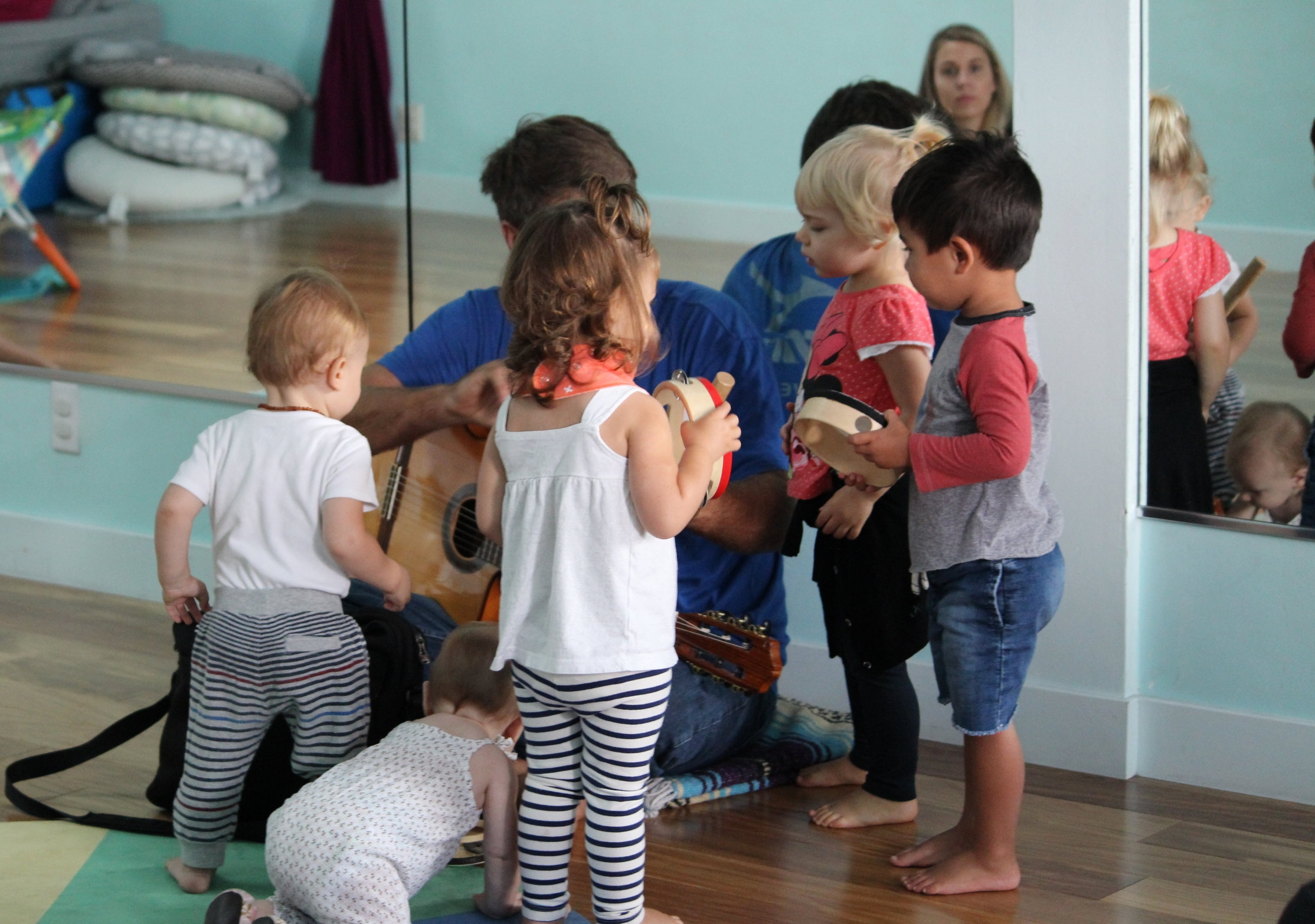 toddler + me classes