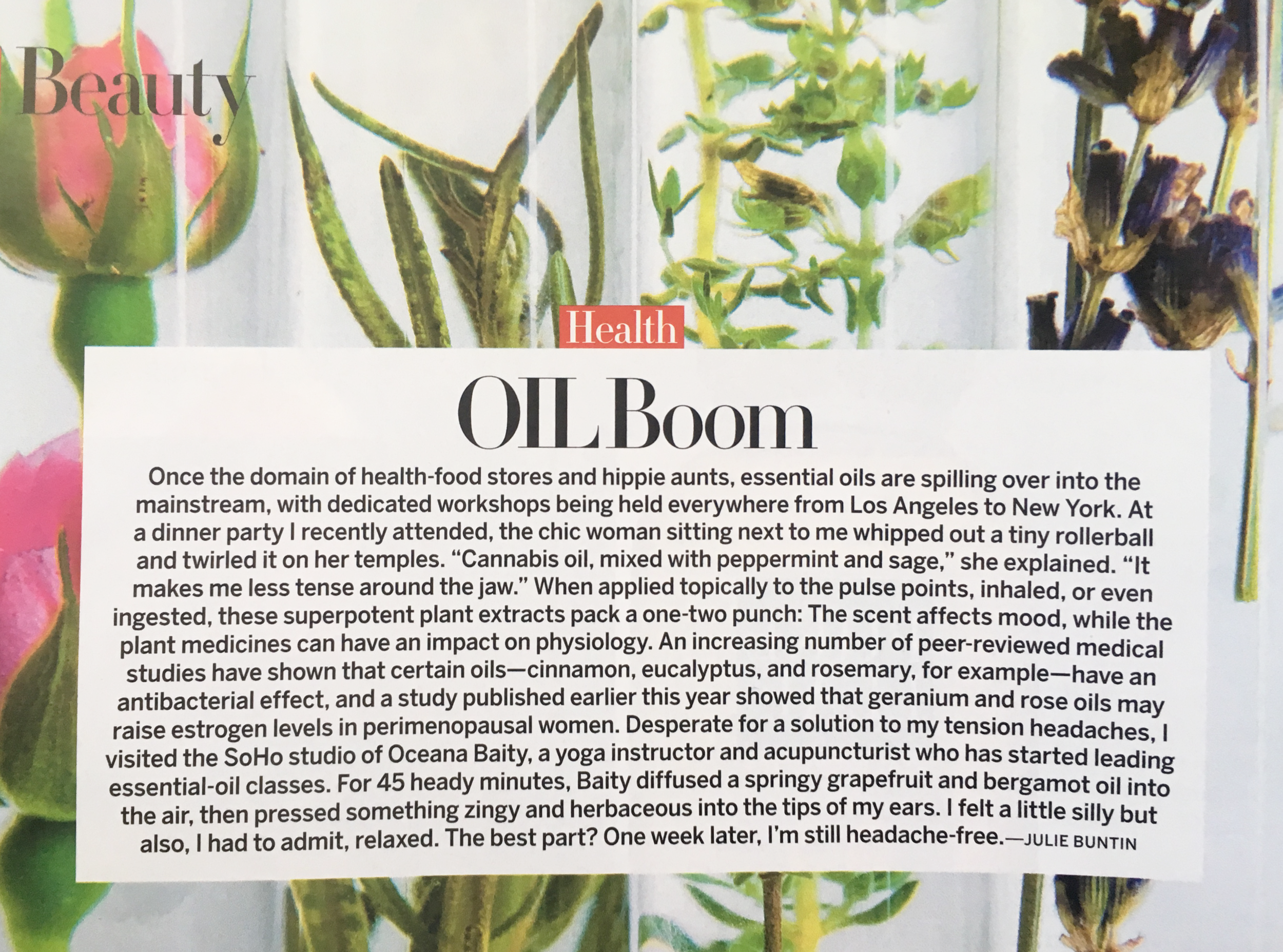 """OIL BOOM""  VOGUE MAGAZINE  (JUNE 2017)"