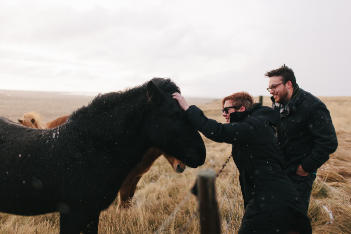 Dean & Lindsay, Iceland; Photo by   Asmund Holien Mo