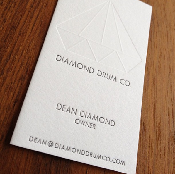 Delicious business cards from  Banshee Press