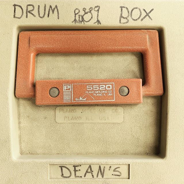 Storing drum parts and hardware in the same box since 1990