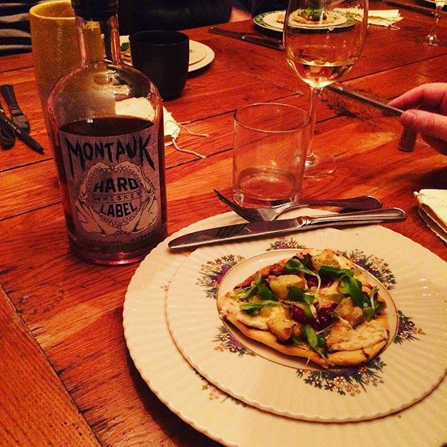 MHL food tasting at the crib... 😛Everything was great #ChefLife #Montauk #Whiskey #MontaukHardLabel #Meow #MHL #GetBarelled #GoHard