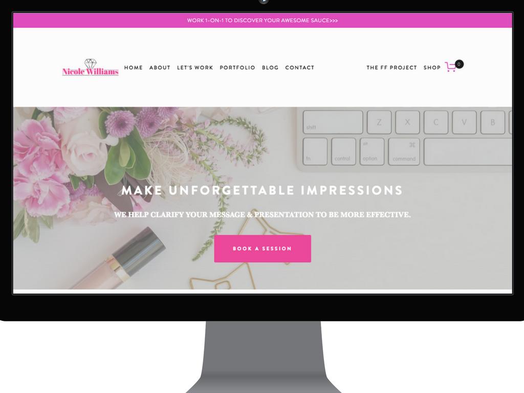 Nicole Williams Collective website