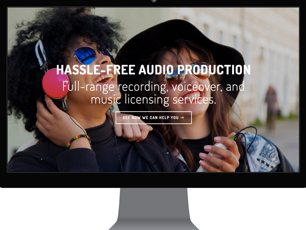 Full-range recording, voiceover, and music licensing services.
