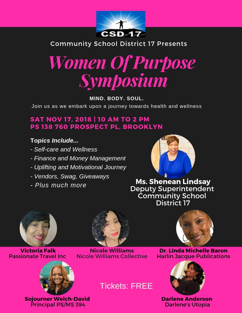 Women Of Purpose Symposium