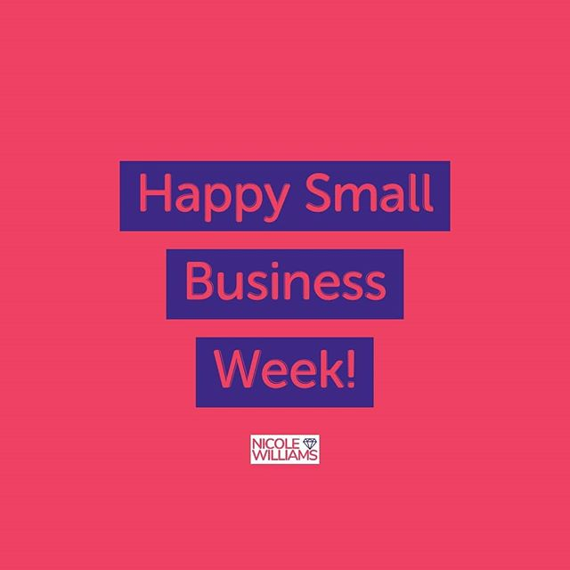 This week is #SmallBusinessWeek and it's a great time to support to celebrate and support your favorite small businesses.. . So go ahead and tag your favorite small business. . . .
